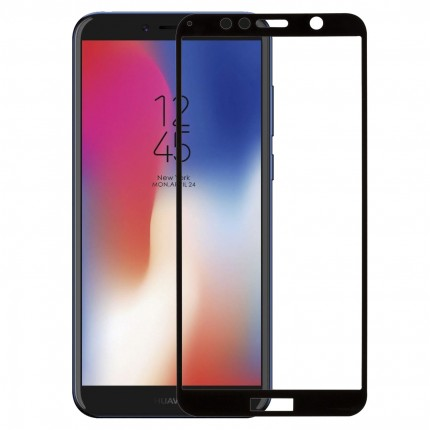 Захисне скло MakeFuture Full Cover Huawei Y6 Prime 2018 Black