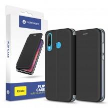 Keйс MakeFuture Flip Case Huawei P 30 Lite Black