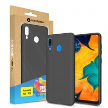 Кейс MakeFuture Skin Samsung A20/A30 Black