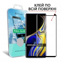 Захисне скло MakeFuture 3D Full Glue Samsung Note 9 Black