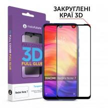 Захисне скло MakeFuture 3D Full Glue Xiaomi Redmi Note 7