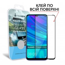 Захисне скло MakeFuture Full Cover Full Glue Huawei P Smart 2019 Black
