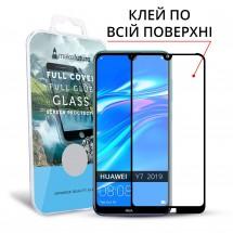 Захисне скло MakeFuture Full Cover Full Glue Huawei Y7 2019