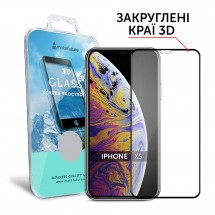 Захисне скло MakeFuture 3D Apple iPhone XS Black