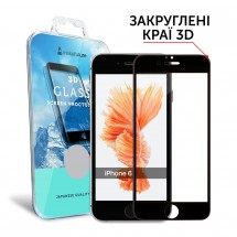 Захисне скло MakeFuture 3D Apple iPhone 6/6s Black