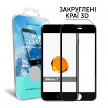 Захисне скло MakeFuture 3D Apple iPhone 7 Black