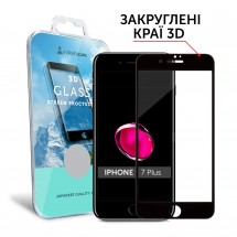 Захисне скло MakeFuture 3D Apple iPhone 7 Plus Black