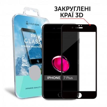 Захисне скло MakeFuture 3D Apple iPhone 7 Plus Black