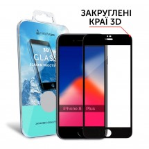 Захисне скло MakeFuture 3D Apple iPhone 8 Plus Black