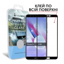 Захисне скло MakeFuture Full Cover Full Glue Honor 9 Lite Black