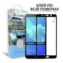 Захисне скло MakeFuture Full Cover Full Glue Huawei Y5 2018 Black