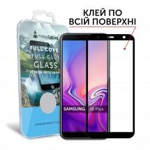 Захисне скло MakeFuture Full Cover Full Glue Samsung J6 Plus 2018 (J610) Black