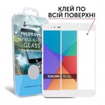 Захисне скло MakeFuture Full Cover Full Glue Xiaomi MiA1 (5X) White