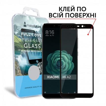 Захисне скло MakeFuture Full Cover Full Glue Xiaomi MiA2 (Mi6X) Black