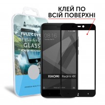 Захисне скло MakeFuture Full Cover Full Glue Xiaomi Redmi 4X Black