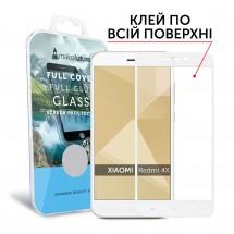 Захисне скло MakeFuture Full Cover Full Glue Xiaomi Redmi 4X White