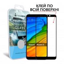 Захисне скло MakeFuture Xiaomi Redmi 5 Full Cover Full Glue Black