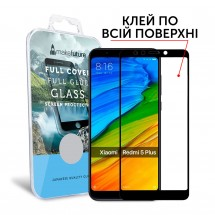 Захисне скло MakeFuture Full Cover Full Glue Xiaomi Redmi 5 Plus Black