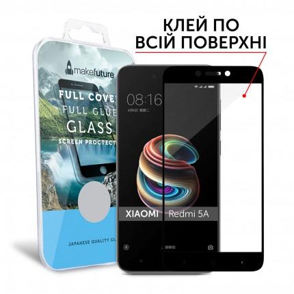 Захисне скло MakeFuture Full Cover Full Glue Xiaomi Redmi 5A Black