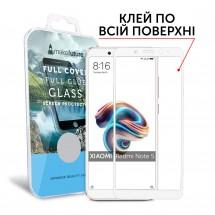 Захисне скло MakeFuture Full Cover Full Glue Xiaomi Redmi Note 5 White