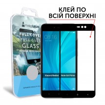 Захисне скло MakeFuture Full Cover Full Glue Xiaomi Redmi Note 5A Prime Black