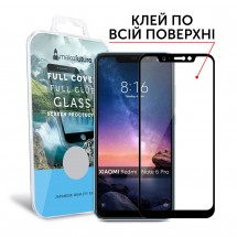 Захисне скло MakeFuture Full Cover Full Glue Xiaomi Redmi Note 6 Pro Black