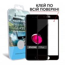 Захисне скло MakeFuture Full Cover Full Glue Apple iPhone 7 Plus Black