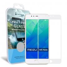 Захисне скло MakeFuture Full Cover Meizu M5 Note White