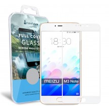 Захисне скло MakeFuture Full Cover Meizu M3 Note White
