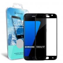 Захисне скло MakeFuture 3D Samsung S7 Black
