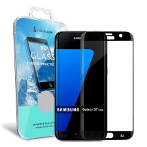 Захисне скло MakeFuture 3D Samsung S7 Edge Black