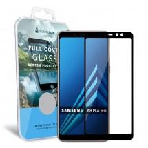 Захисне скло MakeFuture Full Cover Samsung A8 Plus 2018 Black