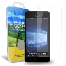Захисне скло MakeFuture Microsoft Lumia 550