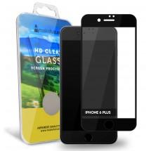 Захисне скло MakeFuture Apple iPhone 6/6S Plus Soft Edge Black