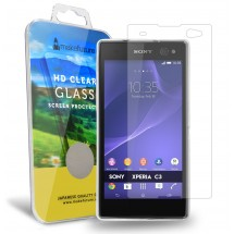 Захисне скло MakeFuture Sony Xperia C3
