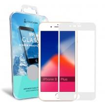 Захисне скло MakeFuture 3D Apple iPhone 8 Plus White