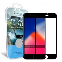 Захисне скло MakeFuture Full Cover Apple iPhone 8 Black