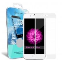 Захисне скло MakeFuture 3D Apple iPhone 6/6s Plus White