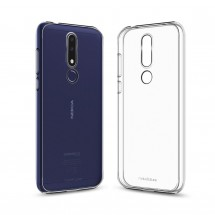 Кейс MakeFuture Nokia 3.1 Plus Air Clear