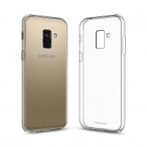 Кейс MakeFuture Air Samsung A8 2018 Clear