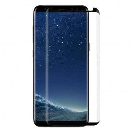 Захисне скло MakeFuture 3D Samsung S8 Plus Black