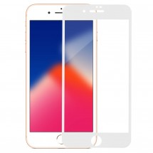 Захисне скло MakeFuture 3D Apple iPhone 8 Plus White