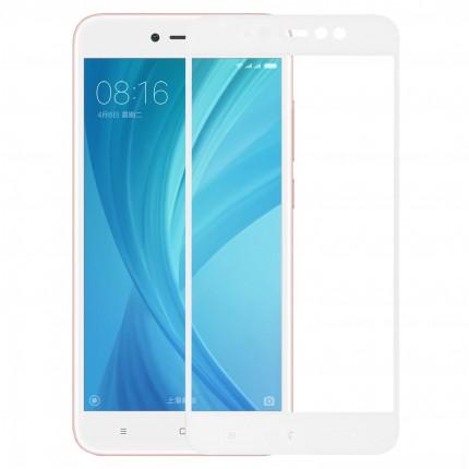 Захисне скло MakeFuture Full Cover Xiaomi Redmi Note 5A Prime White