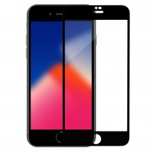 Захисне скло MakeFuture Full Cover Apple iPhone 8 Plus Black
