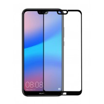 Захисне скло MakeFuture Full Cover Full Glue Huawei P20 Lite Black