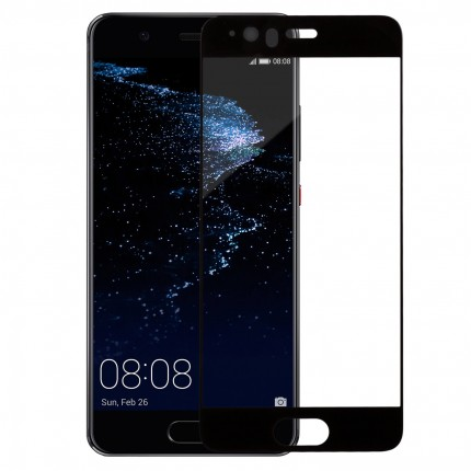 Захисне скло MakeFuture Full Cover Huawei P10 Black