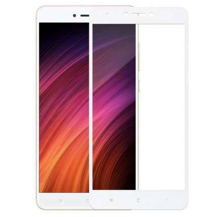 Захисне скло MakeFuture Xiaomi Redmi Note 4X Full Cover White
