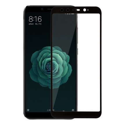 Захисне скло MakeFuture Full Cover Xiaomi MiA2 (Mi6X) Black