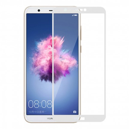 Захисне скло MakeFuture Full Cover Huawei P Smart White