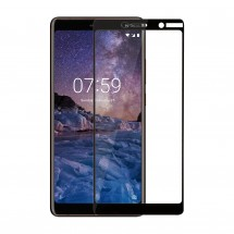 Захисне скло MakeFuture Full Cover Nokia 7 Plus Black